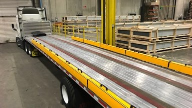 A-SAFE launches TrailerKerb for loading flatbeds at the dock