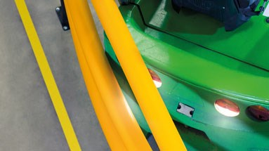 Vehicle impact protection barriers