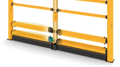 Topple guardrail protection