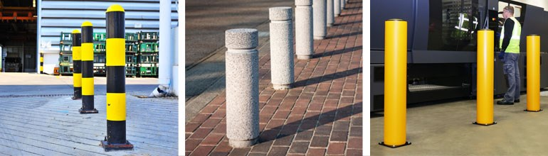 Types of safety bollards