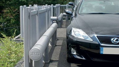 Best in class perimeter protection for luxury Lexus parking lot