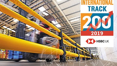 Safety guardrail manufacturer and exporter moves up the International Track 200