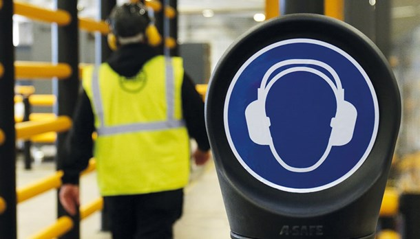 Safety Sign Ear Protection Header