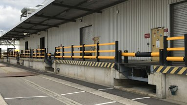 Dock gate outdoor protection