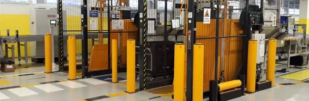Heavy duty bollards for equipment and machinery protection