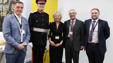 Lord-Lieutenant presents A-SAFE with Second Queen's Award on exclusive customer day