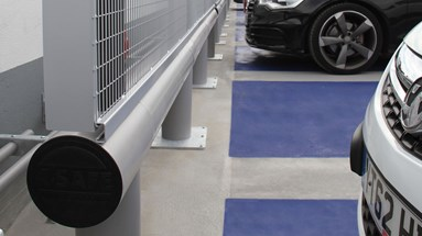 Structural protection for CitiPark's new state-of-the-art parking lot