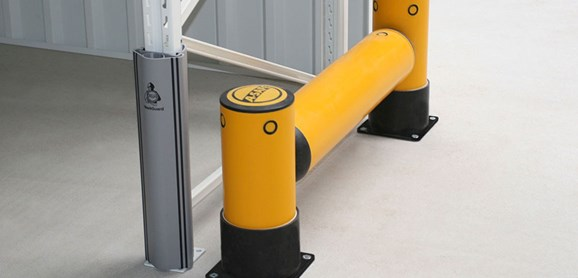 Rackend single flexible polymer safety Guardrail Yellow Post at Volkswagen