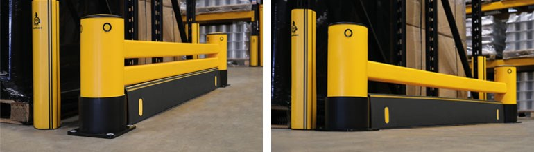 Types Of Warehouse Racking Protection Configuration