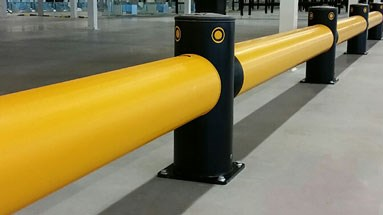 Traffic Barrier Base Plates Protection