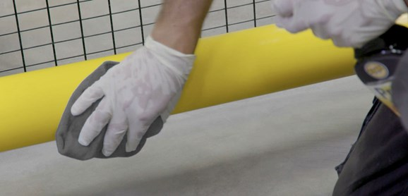 food safe guardrail cleaner disinfectant cleaning in factory