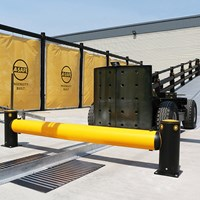 Industrial safety barrier specification