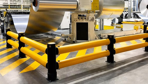 Machine and equipment protection guardrails