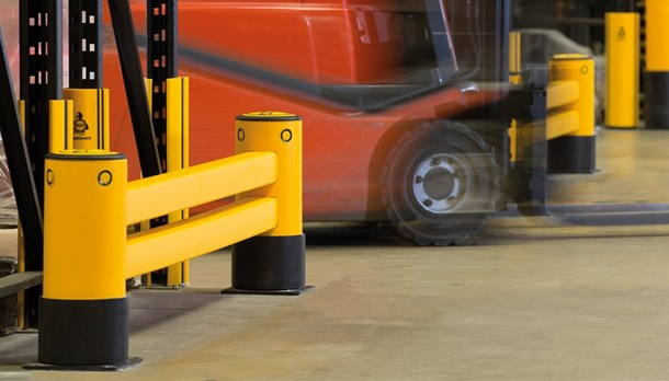 Racking protection barriers