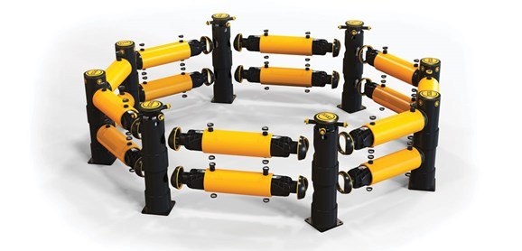Atlas Polygon double flexible polymer Traffic safety Guardrail exploded view