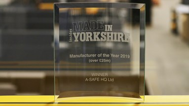 Safety guardrail experts, A-SAFE, named Manufacturer of the Year