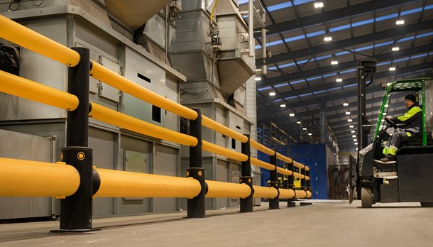Industrial safety barriers for Manufacturers