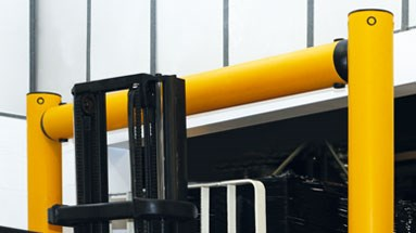 Height restrictor protection in factory