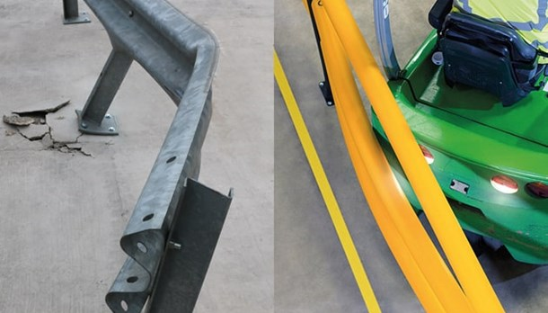 Steel guardrails need frequently replacing