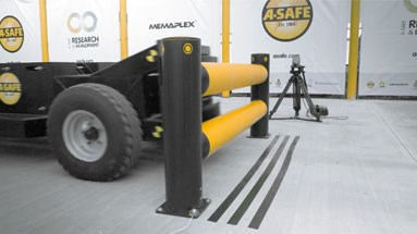 Traffic Barriers Rated For Impact