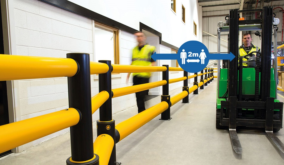 A SAFE Safety And Hygiene In The Workplace Pedestrian Segregation Blog Image 2V2