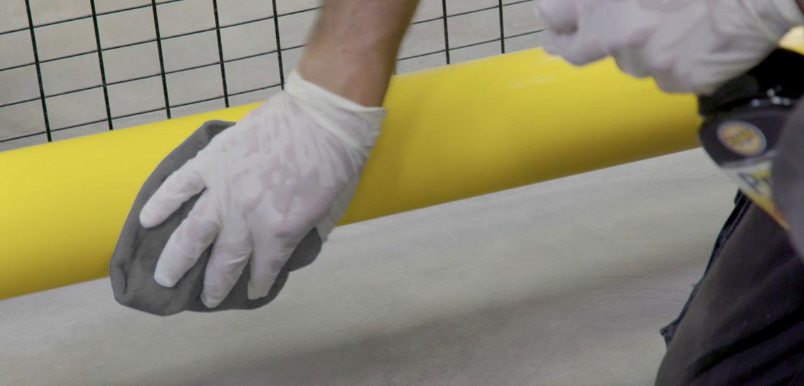 Protx Foodsafe Cleaningbarrier Greycloth 1156X556