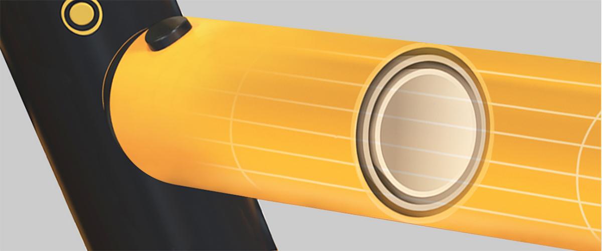 Three Layer Polymer Construction